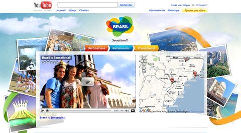 Magazine du tourisme coup de coeur le br sil fait sa promo sur youtube - Office du tourisme du bresil ...