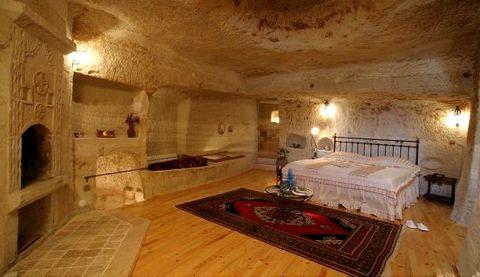Magazine du tourisme h tels aydinli cave house dormir dans une grotte en cappadoce - Chambre troglodyte saumur ...