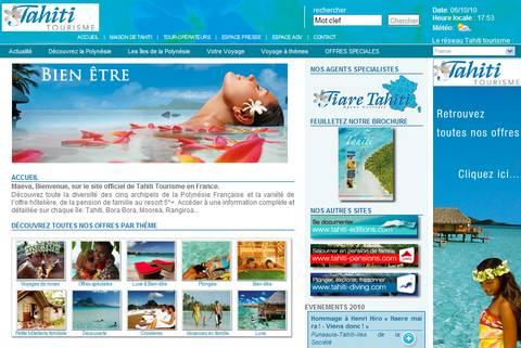 site de tourisme