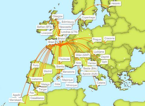 carte des vols easyjet Magazine du Tourisme » Actualité » easyJet achète 15 Airbus A320