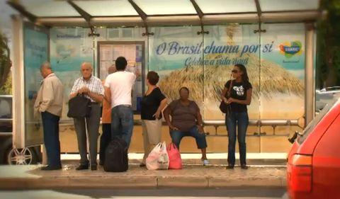 Magazine du tourisme actualit des arr ts de bus qui invitent la danse lisbonne - Office du tourisme du bresil ...