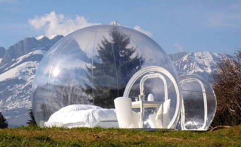 magazine du tourisme h tels bubbletree dormir dans une bulle. Black Bedroom Furniture Sets. Home Design Ideas
