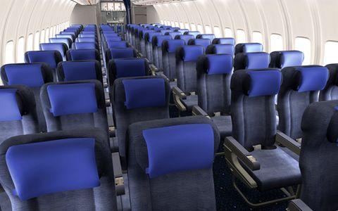 Magazine du tourisme actualit la cabine economy plus de for Interieur boeing 757