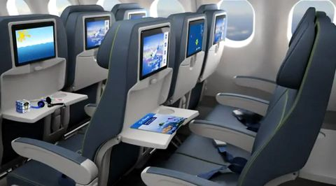 Magazine du tourisme actualit la nouvelle cabine d air for Interieur avion air canada
