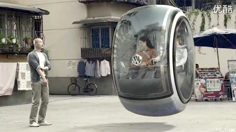 Magazine du tourisme actualit la voiture volante de volkswagen - Office tourisme la flotte ...