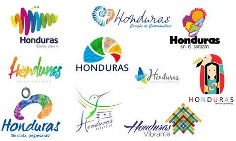 finalistes du concours pour le logo du Honduras